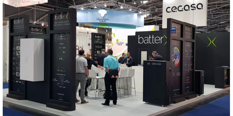 batterX® @ Intersolar 2018